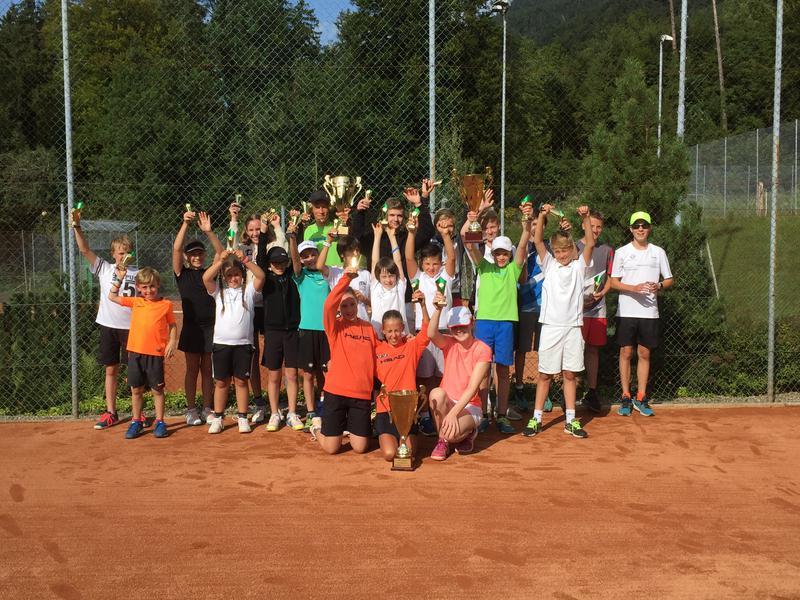 Erfolgreiche Junioren-Clubmeisterschaften vom 20. August 2017